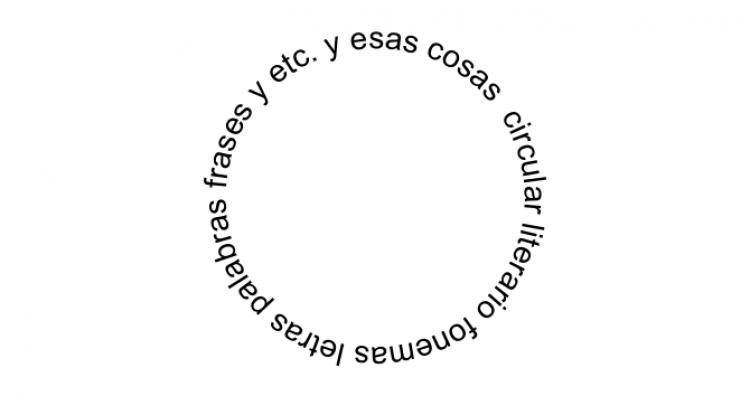 Manuel Pereda  Circular literario: Foenmas, letras, palabras, frases y otras cosas...